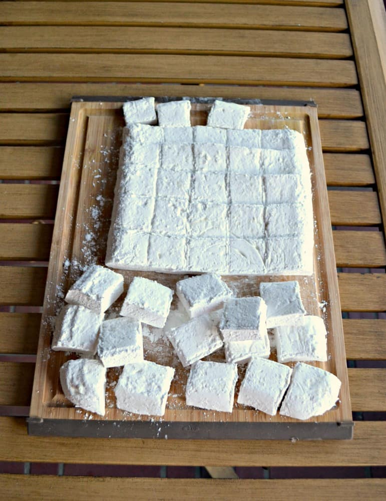 Once you try these Homemade Marshmallows you won't ever buy them from the store again!