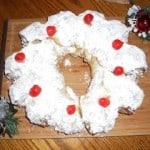Christmas Stollen Wreath: Daring Baker's Challenge