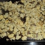 Roasted Cauliflower with Herbs and Parmesan Cheese