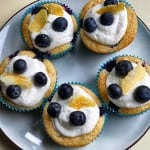 Lemon Blueberry Cupcakes with Lemon Buttercream Frosting: What's Baking?