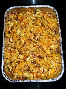 Cornbread, Chorizo, and Jalapeno Stuffing