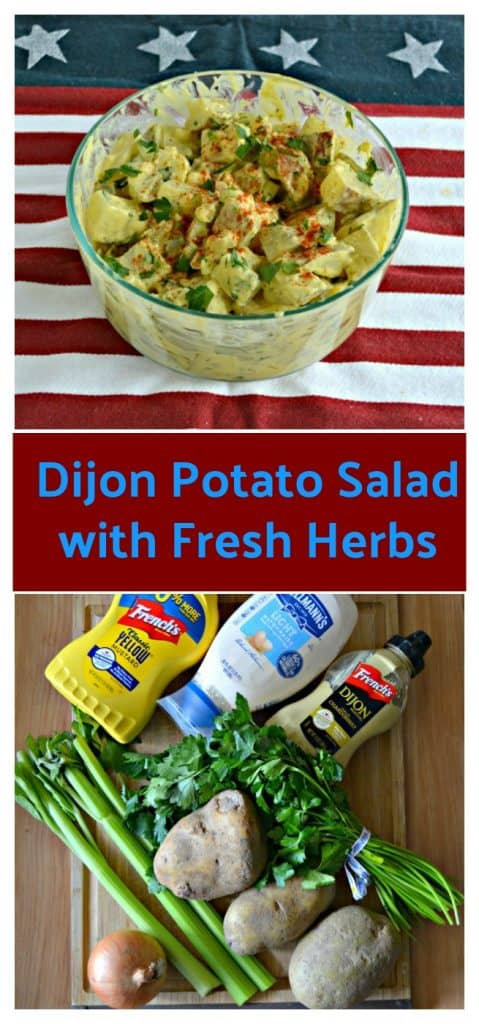 Everything you need to make Dijon Potato Salad