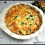 Farm Fresh Vegetable Quiche: Meatless Mondays