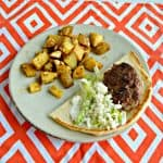 Lamb Pita Sandwiches with Tzatziki Sauce