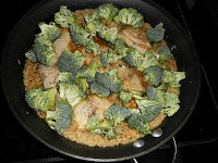 One Pot Spicy Asian Chicken and Broccoli