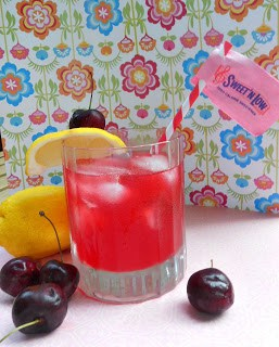 Refresh with a Spiked Cherry Lemonade