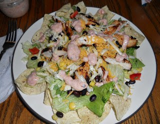 Make a deliciosu Sante Fe Chicken Salad with homemade dressing tonight!