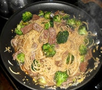Quick and Easy Beef and Broccoli Lo Mein
