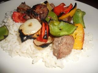 Grilled Beef Kebobs