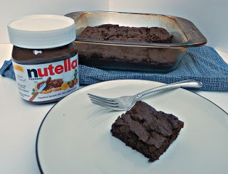 Double Daark Nutella Brownies are delicious!