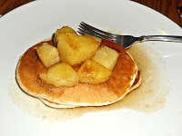 Pineapple Upside Down Cake Pancakes are an awesome gourmet breakfast