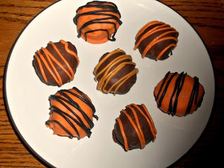 Easy Pumpkin Cake truffles Recipe
