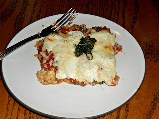 QUinoa, Spinach, and Kale Lasagna is a great substitute for lasagna noodles!