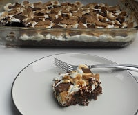 Easy S'mores Brownies are awesome!