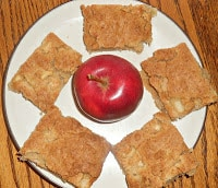 Apple Squares are a great fall dessert.