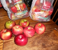 Lots of apples to use to can my favorite apple butter recipe