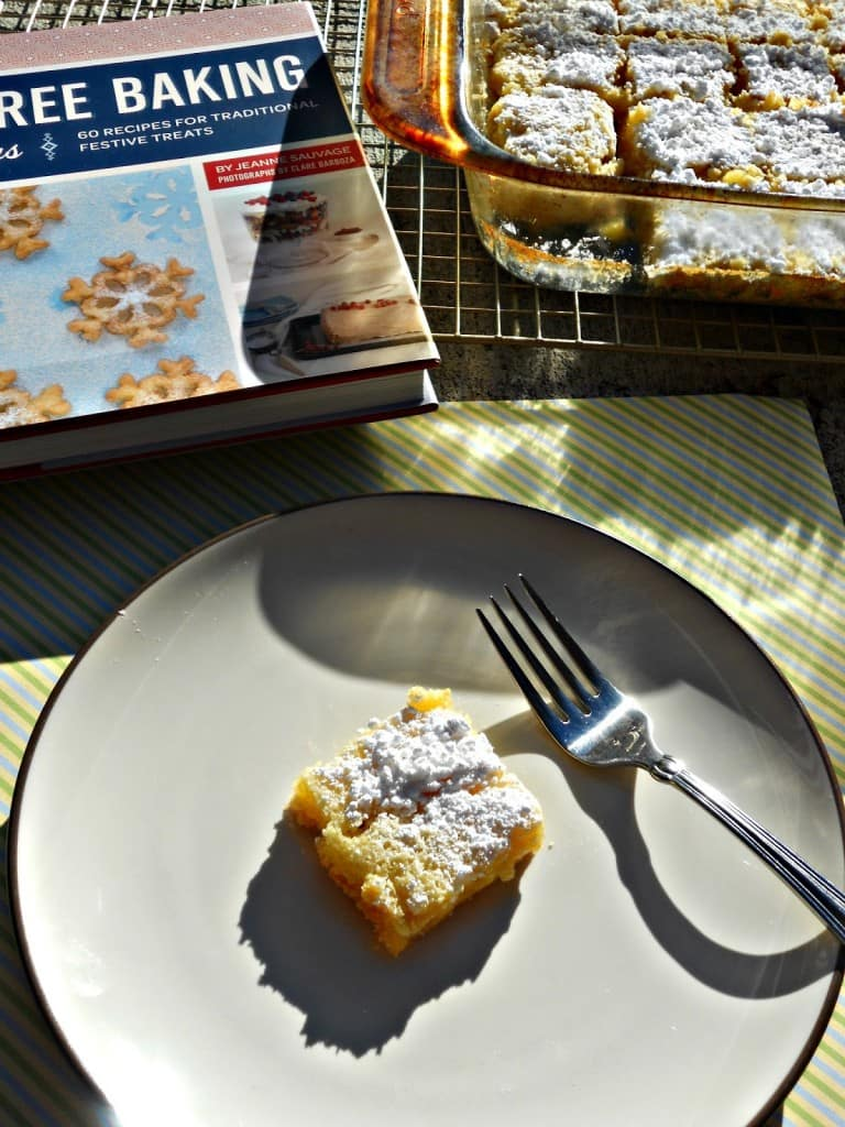 Brighten up your day with these GLuten Free Lemon Bars