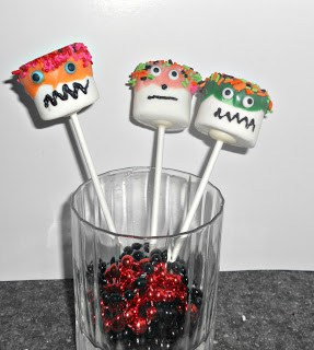 Monster Pops are a fun and easy dessert or party favor.
