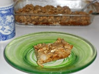 Oatmeal Cookie Pear Bars is a great recipe to feed a crowd dessert.
