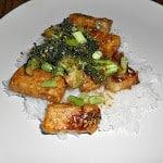Healthy Sesame Tofu