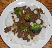Easy to make Korean Beef and Broccoli