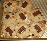 S'mores Cookies are easy to make!