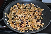 Homemade Fruit and Nut Granola for Granola Bars