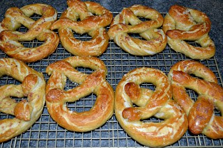 Golden Brown and delicious Alton Brown Soft Pretzels