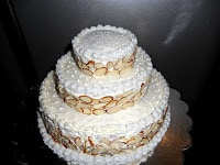 How To Make and Decorate a Three Tiered Wedding cake in under 6 hours!