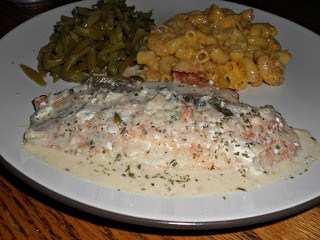 Tilapia in a White Wine Sauce with Capers and Lemon