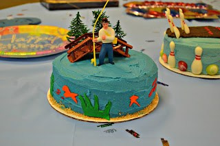 How to make a Fishing Cake (Coconut cake with Coconut frosting)