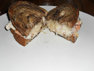 Rachel Sandwich on Marbled Rye
