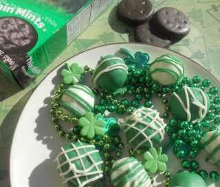 Thin Mint Truffles