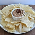 Black Eyed Pea Hummus with Sun-dried Tomatoes