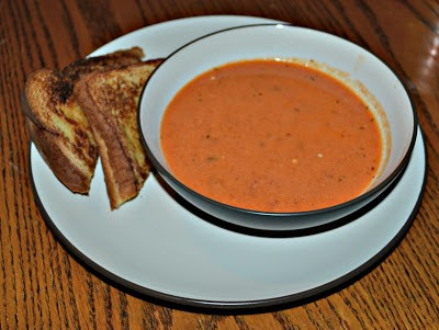 Roasted Tomato Soup from www.hezzi-dsbooksandcooks.com