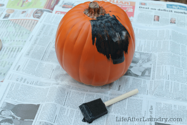 DIY Chalkboard Paint Pumpkins 1