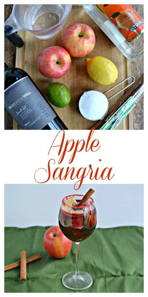 Everything you need to make Apple Sangria