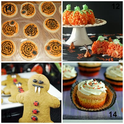 20 Spooktacular Desserts for Halloween from Hezzi-D's Books and Cooks