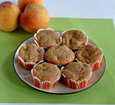 Vegan Peach Cobbler Cupcakes are so good noone will know they're vegan!