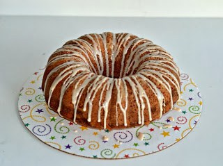 Spiced Bundt Cake with Berry Jam and Cream Cheese Swirl from Hezzi-D's Books and Cooks