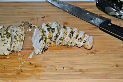 Turkey Tenderloin with Brown Butter and Herbs from Hezzi-D's Books and Cooks