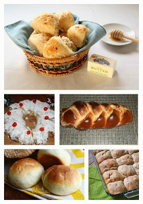 9 Bread Recipes for the holidays!