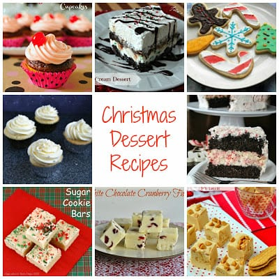 17 Dessert Recipes for Christmas:  Cookies, cupcakes, fudge, and more!