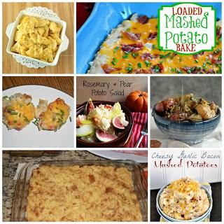 16 Side Dish Recipes perfect for Christmas and other holidays