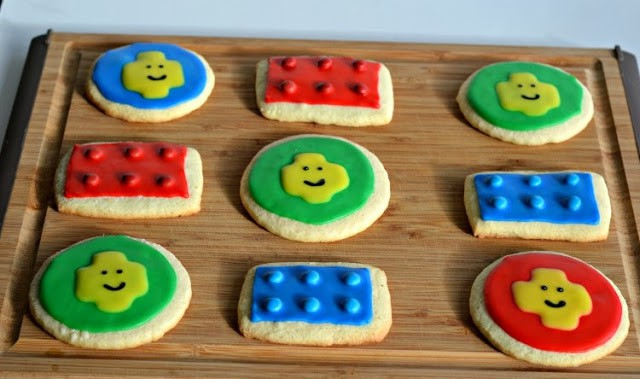 Amazing gluten free Lego Cookies from Hezzi-D's Books and Cooks