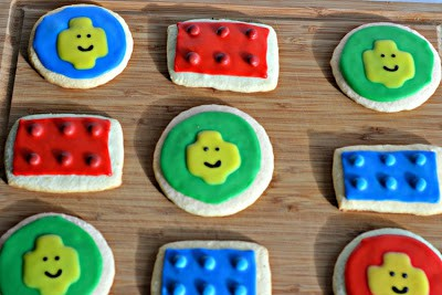 Gluten Free Lego Cookies from Hezzi-D's Books and Cooks