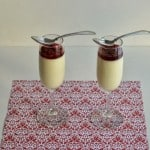 Pomegranate White Wine Panna Cotta: Memorable Holiday Meals with Gallo Family Vineyards #SundaySupper