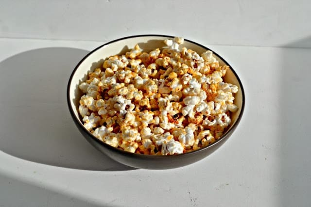 BBQ Popcorn from Hezzi-D's Books and Cooks