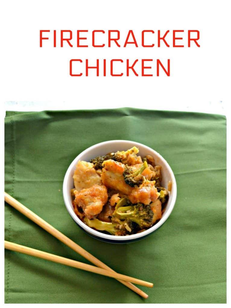 Sweet and spicy Firecracker Chicken