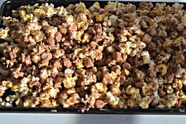 Gourmet Nutella Marshmallow Popcorn